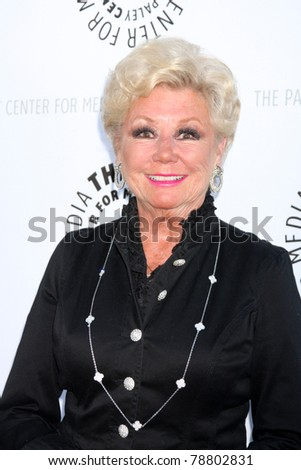 LOS ANGELES - JUN 7:  Mitzi Gaynor arrives at the Debbie Reynolds Hollywood Memorabilia Collection Auction & Auction Preview at Paley Center For Media on June 7, 2011 in Beverly Hills, CA - stock photo