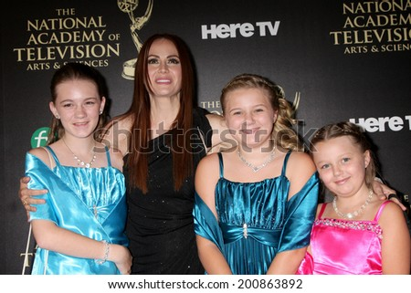 LOS ANGELES - JUN 22:  Natalia Livingston at the 2014 Daytime Emmy Awards Arrivals at the Beverly Hilton Hotel on June 22, 2014 in Beverly Hills, CA - stock photo