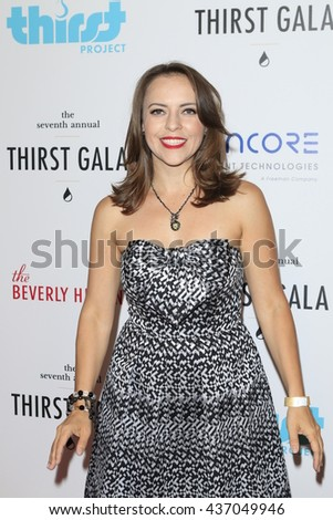 LOS ANGELES - JUN 13:  Olga Kay at the 7th Annual Thirst Gala at the Beverly Hilton Hotel on June 13, 2016 in Beverly Hills, CA - stock photo