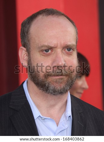 "LOS ANGELES - JUN 08:  PAUL GIAMATTI arrives to the ""Rock of Ages"" World Premiere  on June 08, 2012 in Hollywood, CA"