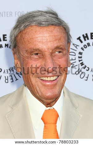 LOS ANGELES - JUN 7:  Richard Anderson arrives at the Debbie Reynolds Collection Auction Preview at Paley Center For Media on June 7, 2011 in Beverly Hills, CA - stock photo