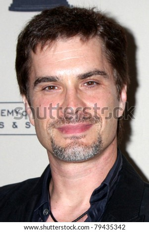 LOS ANGELES - JUN 16:  Rick Hearst arrives at the Academy of Television Arts and Sciences Daytime Emmy Nominee Reception at SLS Hotel at Beverly Hills on June 16, 2011 in Beverly Hills, CA - stock photo