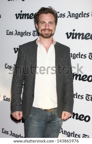 "LOS ANGELES - JUN 26:  Rider Strong arrives at the ""Some Girl(s)"" Premiere at the Laemmle Noho Theater on June 26, 2013 in North Hollywood, CA"