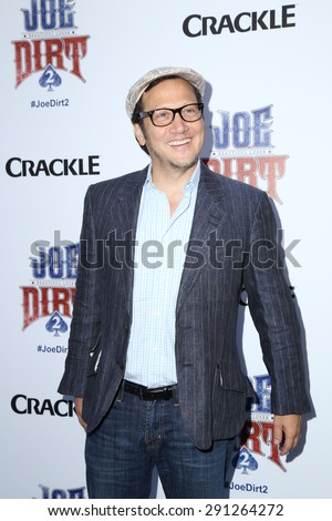 """LOS ANGELES - JUN 24:  Rob Schneider at the """"Joe Dirt 2: Beautiful Loser"""" Premiere at the Sony Studios on June 24, 2015 in Culver City, CA - stock photo"""