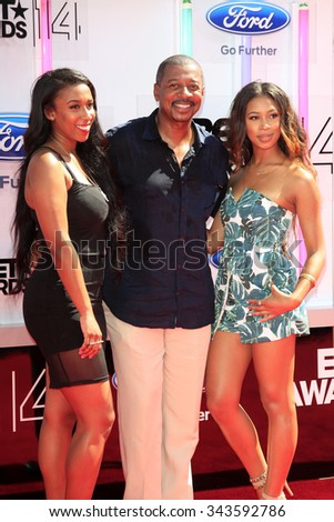 LOS ANGELES - JUN 29:  Robert Townsend at the 2014 BET Awards - Arrivals at the Nokia Theater at LA Live on June 29, 2014 in Los Angeles, CA - stock photo
