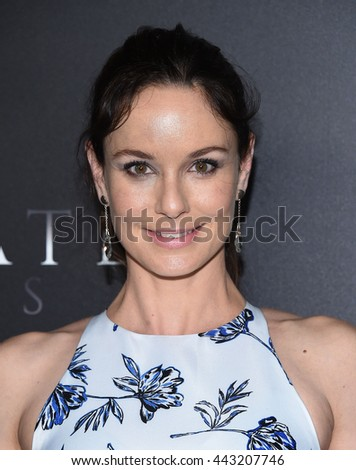 """LOS ANGELES - JUN 21:  Sarah Wayne Callies arrives to the """"Free State of Jones"""" Hollywood Premiere  on June 21, 2016 in Hollywood, CA.                 - stock photo"""