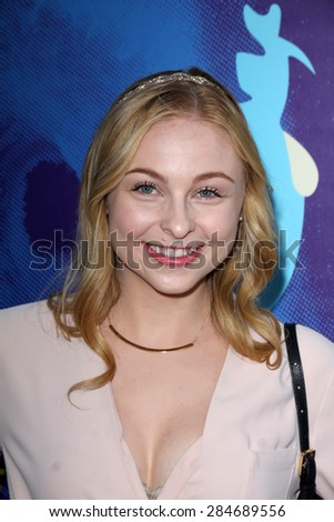"""LOS ANGELES - JUN 2:  Shelby Wulfert at the """"Love & Mercy"""" Los Angeles Premiere at the Academy of Motion Picture Arts & Sciences on June 2, 2015 in Los Angeles, CA - stock photo"""