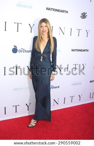 """LOS ANGELES - JUN 24:  Simone Reyes at the """"Unity"""" Documentary World Premeire at the Director's Guild of America on June 24, 2015 in Los Angeles, CA - stock photo"""