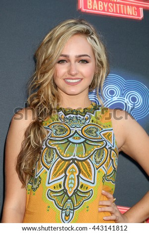 LOS ANGELES - JUN 23:  Sophie Reynolds at the 100th DCOM Adventures In Babysitting LA Premiere Screening at the Directors Guild of America on June 23, 2016 in Los Angeles, CA - stock photo