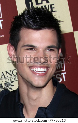 "LOS ANGELES - JUN 21:  Taylor Lautner arriving at ""A Better Life""  World Premiere Gala Screening t the 2011 Los Angeles Film Festival at Regal Cinemas L.A. LIVE on June 21, 2011 in Los Angeles, CA"