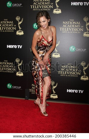 LOS ANGELES - JUN 22:  Terri Ivens at the 2014 Daytime Emmy Awards Arrivals at the Beverly Hilton Hotel on June 22, 2014 in Beverly Hills, CA - stock photo