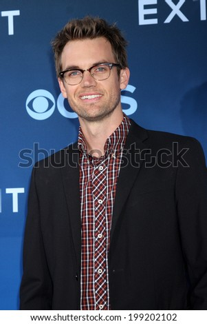 """LOS ANGELES - JUN 16:  Tyler Hilton at the """"Extant"""" Premiere Screening at the California Science Center on June 16, 2014 in Los Angeles, CA - stock photo"""