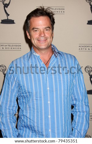 LOS ANGELES - JUN 16:  Wally Kurth arrives at the Academy of Television Arts and Sciences Daytime Emmy Nominee Reception at SLS Hotel at Beverly Hills on June 16, 2011 in Beverly Hills, CA - stock photo
