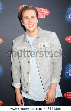 LOS ANGELES - JUN 23:  Will Loftis at the 100th DCOM Adventures In Babysitting LA Premiere Screening at the Directors Guild of America on June 23, 2016 in Los Angeles, CA - stock photo
