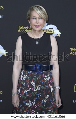 LOS ANGELES - JUN 2:  Yeardley Smith at the Television Academy 70th Anniversary Gala at the Saban Theater on June 2, 2016 in North Hollywood, CA - stock photo