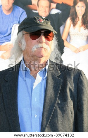 LOS ANGELES - JUNE 25: David Crosby at the premiere of 'License To Wed' at the Cinerama Dome in Hollywood on June 25, 2007 in Los Angeles, California