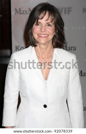 LOS ANGELES - JUNE 1: Sally Field at the 2010 Crystal & Lucy Awards at the Century Plaza Hotel, Century City, Los Angeles, CA on June 1, 2010 - stock photo