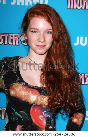 LOS ANGELES - MAR 26:  Annalise Basso at the Just Jared's Throwback Thursday Party at the Moonlight Rollerway on March 26, 2015 in Glendale, CA