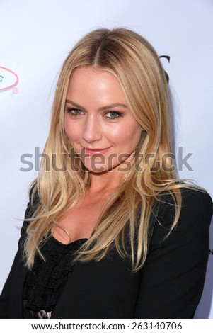 LOS ANGELES - MAR 18:  Becki Newton at the Norma Jean Gala at the Taglyan Complex on March 18, 2015 in Los Angeles, CA - stock photo