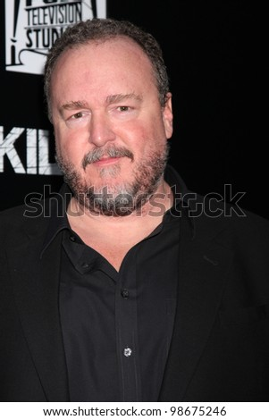 """LOS ANGELES - MAR 26:  Brent Sexton arrives at  the AMC's """"The Killing"""" Season 2 Premiere at the ArcLight Theaters on March 26, 2012 in Los Angeles, CA - stock photo"""