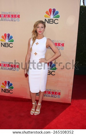 LOS ANGELES - MAR 29:  Brittany Snow at the 2015 iHeartRadio Music Awards at the Shrine Auditorium on March 29, 2015 in Los Angeles, CA - stock photo