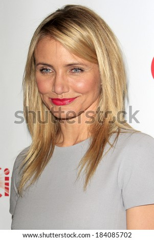 LOS ANGELES - MAR 27:  Cameron Diaz at the 20th Century Fox CinemaCon 2014 Photo Call at Caesars Palace on March 27, 2014 in Las Vegas, NV - stock photo