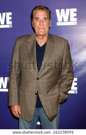 """LOS ANGELES - MAR 19:  Chuck Woolery at the WE tv Presents """"The Evolution of Realationship Reality Shows"""" at the Paley Center For Media on March 19, 2015 in Beverly Hills, CA  - stock photo"""