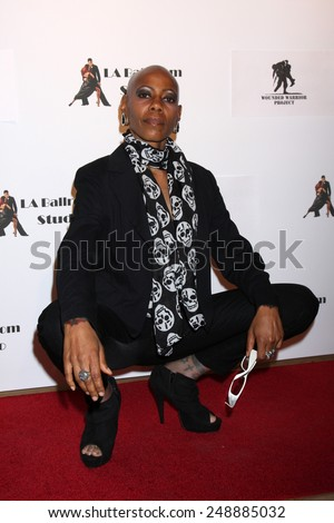 LOS ANGELES - MAR 31:  Debra Wilson at the LA Ballroom Studio Grand Opening at LA Dance Studio on March 31, 2014 in Sherman Oaks, CA - stock photo