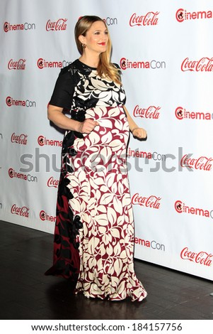 LOS ANGELES - MAR 27:  Drew Barrymore at the  CinemaCon 2014 Awards Gala at Caesars Palace on March 27, 2014 in Las Vegas, NV - stock photo