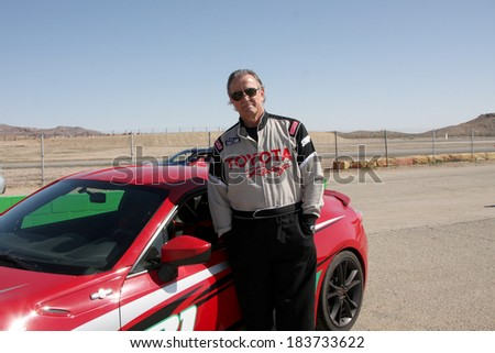 LOS ANGELES - MAR 15:  Eric Braeden at the Toyota Grand Prix of Long Beach Pro-Celebrity Race Training at Willow Springs International Speedway on March 15, 2014 in Rosamond, CA - stock photo