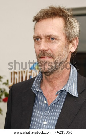 LOS ANGELES - MAR 27:  Hugh Laurie arrives at the World Premiere of 'HOP' held at Universal Studios Hollywood on March 27, 2011 in Los Angeles, California