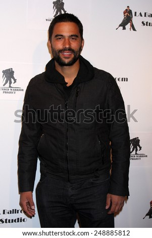 LOS ANGELES - MAR 31:  Ignacio Serricchio at the LA Ballroom Studio Grand Opening at LA Dance Studio on March 31, 2014 in Sherman Oaks, CA - stock photo