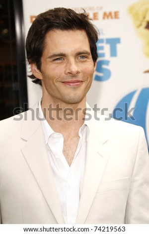 LOS ANGELES - MAR 27:  James Marsden arrives at the World Premiere of 'HOP' held at Universal Studios Hollywood on March 27, 2011 in Los Angeles, California - stock photo