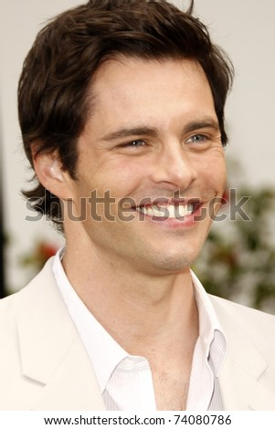 """LOS ANGELES - MAR 27:  James Marsden arriving at the """"HOP"""" World Premiere at Universal Studios Hollywood on March 27, 2011 in Los Angeles, CA - stock photo"""