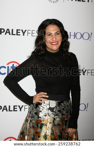 """LOS ANGELES - MAR 8:  Jenni Konner at the PaleyFEST LA 2015 - """"Girls"""" at the Dolby Theater on March 8, 2015 in Los Angeles, CA - stock photo"""
