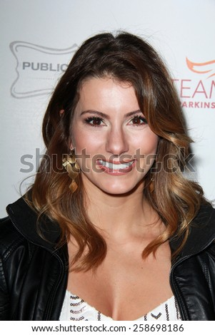 LOS ANGELES - MAR 7:  Jennifer Widerstrom at the Raising The Bar To End Parkinsons Event at the Public School 818 on March 7, 2015 in Sherman Oaks, CA - stock photo