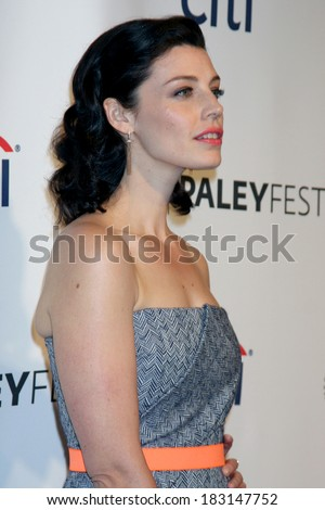 "LOS ANGELES - MAR 21:  Jessica Pare at the PaleyFEST 2014 - ""Mad Men"" at Dolby Theater on March 21, 2014 in Los Angeles, CA"