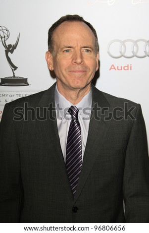 LOS ANGELES - MAR 1:  Jonathan Murray arrives at the Academy of Television Arts & Sciences 21st Annual Hall of Fame Ceremony at the Beverly Hills Hotel on March 1, 2012 in Beverly Hills, CA - stock photo