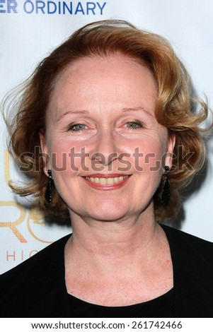 """LOS ANGELES - MAR 16:  Kate Burton at the DirecTV's """"Full Circle"""" Season 2 Premiere at the The London on March 16, 2015 in West Hollywood, CA - stock photo"""
