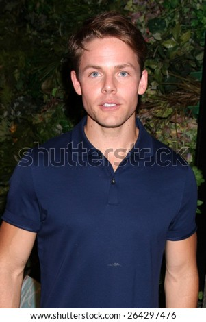 LOS ANGELES - MAR 26:  Lachlan Buchanan at the Young & Restless 42nd Anniversary Celebration at the CBS Television City on March 26, 2015 in Los Angeles, CA - stock photo