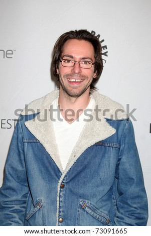 "LOS ANGELES - MAR 12:  Martin Starr arrives at the ""Freaks & Geeks, Undeclared"" PaleyFest 2011 at Saban Theatre on March 12, 2011 in Beverly Hills, CA"