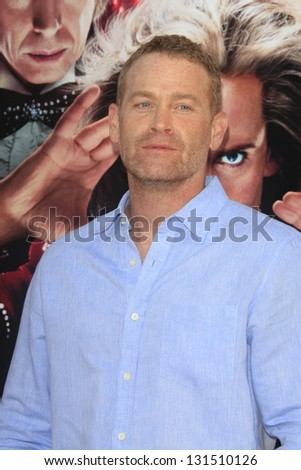 "LOS ANGELES - MAR 11:  Max Martini arrives at the World Premiere of ""The Incredible Burt Wonderstone"" at the Chinese Theater on March 11, 2013 in Los Angeles, CA"