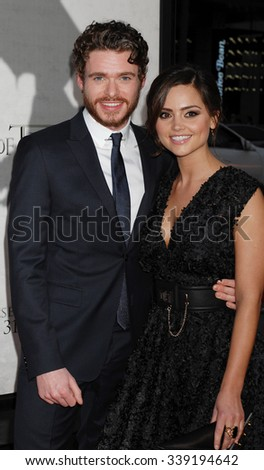 LOS ANGELES - MAR 18 - Richard Madden and Jenna-Louise Coleman arrives at the Game Of Thrones Season 3 Los Angeles Premiere on March 18,  2013 in Los Angeles, CA