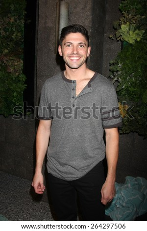 LOS ANGELES - MAR 26:  Robert Adamson at the Young & Restless 42nd Anniversary Celebration at the CBS Television City on March 26, 2015 in Los Angeles, CA - stock photo