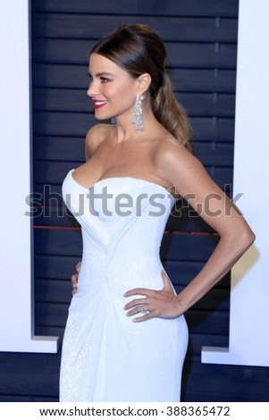 LOS ANGELES - MAR 3:  Sofia Vergara at the Bosch Season 2 Premiere Screening at the Silver Screen Theater at the Pacific Design Center on March 3, 2016 in West Hollywood, CA - stock photo