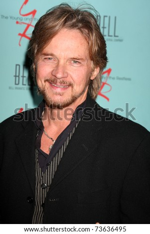 LOS ANGELES - MAR 18:  Stephen Nichols arriving at The Young & the Restless 38th Anniversary Party Hosted by The Bell Family at Avalon Hotel on March 18, 2011 in Beverly HIlls, CA