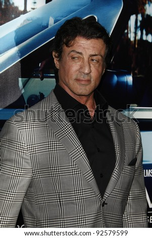 LOS ANGELES - MAR 22:  Sylvester Stallone arriving at the Los Angeles HBO Premiere of 'His Way' at Paramount Studios in Los Angeles, California on March 22, 2011.