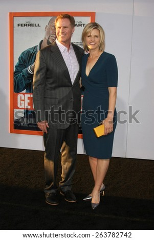 "LOS ANGELES - MAR 25:  Will Ferrell, Viveca Paulin at the ""Get Hard"" Premiere at the TCL Chinese Theater on March 25, 2015 in Los Angeles, CA - stock photo"