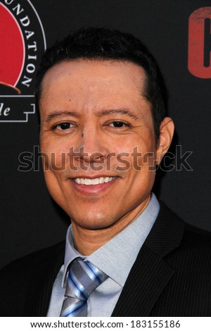 "LOS ANGELES - MAR 20:  Yancey Arias at the ""Cesar Chavez"" Los Angeles Premiere at TCL Chinese Theater on March 20, 2014 in Los Angeles, CA"