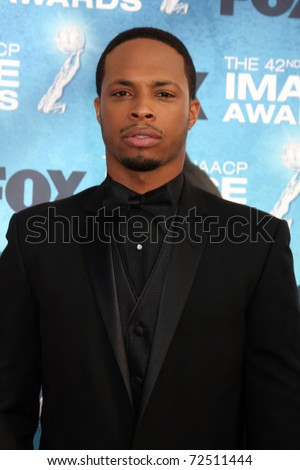 LOS ANGELES -  MARCH 4: Cornelius Smith Jr. arriving at the 42nd NAACP Image Awards at Shrine Auditorium on March 4, 2011 in Los Angeles, CA